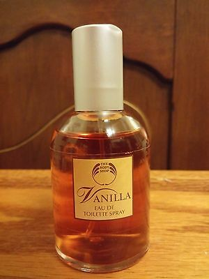 The Body Shop Vanilla Eau de Toilette 1.7 oz 50ml Discontinued Perfume