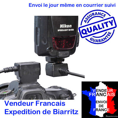 CABLE D'EXTENSION I-TTL POUR 2 FLASH NIKON  compatible   SC-28