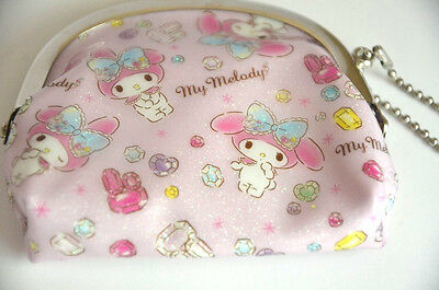Sanrio My Melody Coin Purse Vinyl with metal closing Clasp New from Japan RARE