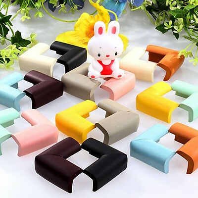 2pcs Baby Safety Table Desk Edge Corner Cushion Guards Softener Bumper Protector