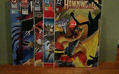 DC Comics Hawkworld 1990, 26 comic lot all NM 9.0 ish