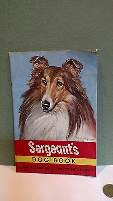 1948 Sergeant's Dog Book  Canine Pet Care Collie