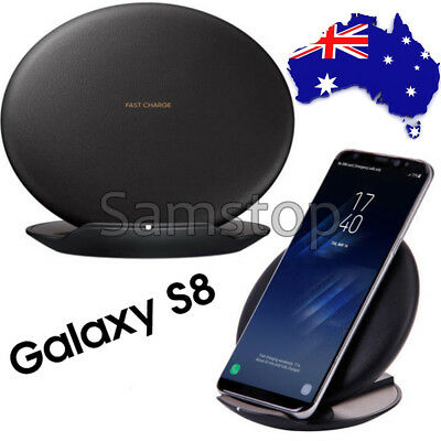 Genuine Wireless Fast Charger Convertible Pad For Samsung Galaxy S8 & S8 Plus