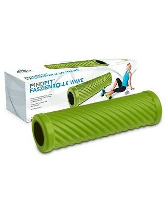 Pinofit Faszienrolle Wave Lime