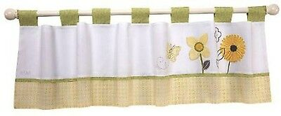 Bright Blossoms  Window Valance by NoJo -Butterfly and Flower