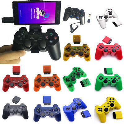 PS2 USB Wireless Controller Dual Shock Gamepad Console Joypad Game Pad Sony Toy