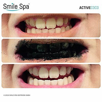 ActiveCoco Activated Charcoal Sbiancamento denti Powder   30 Grams