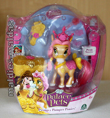 Palace Pets Primp & Pamper Pony Petit Suzette NEU/OVP Disney Princess
