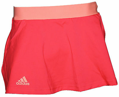 adidas Damen Tennis Rock AI1132 CLUB SKORT pink orange NEU @351