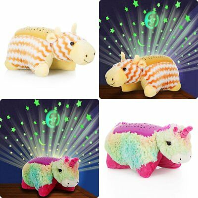 Animal Cuddle Pet Pillow Cushion Dream Night Light Bed Light Kids Childrens Toy