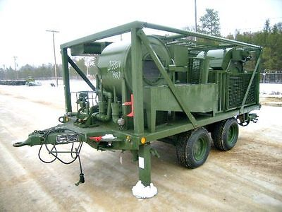 Trailer Mounted Laundry Unit w/ Generator -Self contained wash plant for clothes