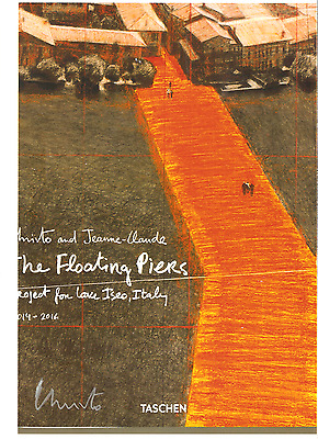 "CHRISTO, orig. sign. Farboffset,"" Floating PIers"""