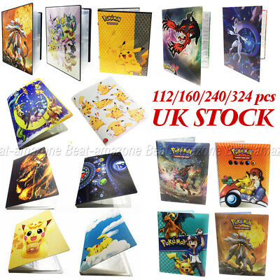 Ultra Pro Pokemon Cards Portfolios Album Collectors 160-324Pcs Holder Binder UK
