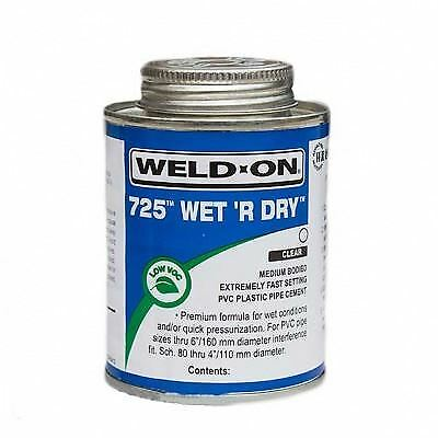 Solvent Weld Cement 250ml Ideal For Pond & Swimming Pool Pipe Work