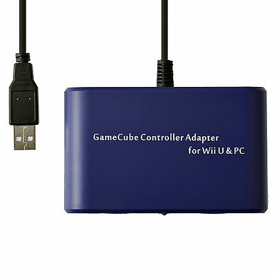 Mayflash 2-Port GameCube GC Controller Adapter Converter for Switch Wii U PC USB