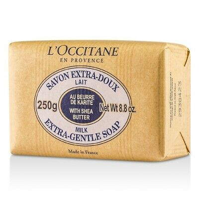 L'Occitane Shea Butter Extra Gentle Soap - Milk 250g Bath & Shower