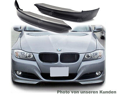 BMW E91 E 90 Facelift Frontdiffusor Splitter Front Flaps Extrem Sportliche Look