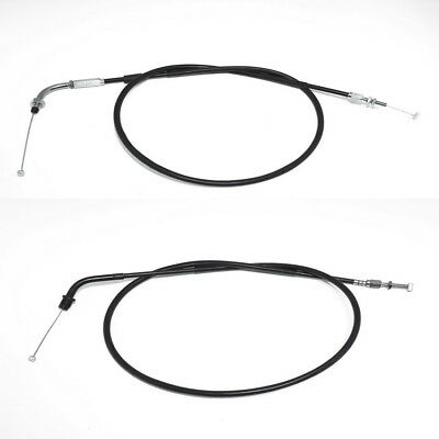 NEUES  GASZÜG-SET HONDA VT 600C  Typ PC21  ZÜGE 15 cm Länger Throttle Cable Set