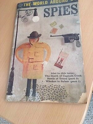 1961 CLASSICS ILLUSTRATED *THE WORLD AROUND US #35* *SPIES* SPY Fair Condition