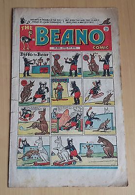original comic Beano No 358 april 2nd1949