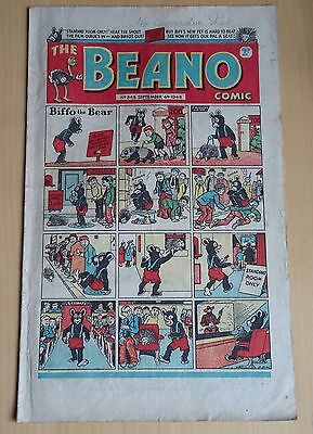 original comic Beano No 343 september 4th 1948