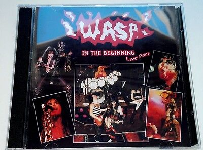 W.A.S.P. WASP In the Beginning - Live Part - 2CDs, motley crue, slayer, kiss,