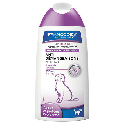 Francodex - Shampoing Anti-Démangeaisons pour Chien - 250ml
