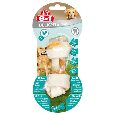 8in1 - Friandise Os Dental Delight S pour Petit Chien