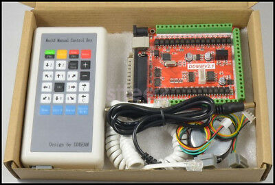 6 Axis USB LPT Mach3 Controller Board Interface Control for CNC Router Machine