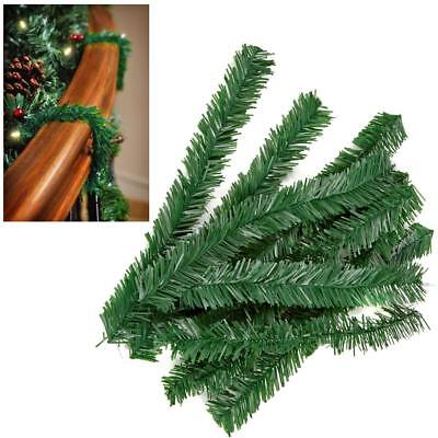 Premier 10 Pack Green Artificial Tree Christmas Garland Wire Ties