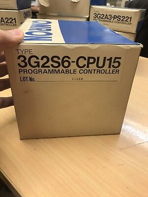 Omron Programmable Controller  3G2S6-Cpu15