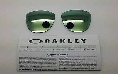 Oakley FROGSKINS lenti ricambio color emerald iridium model 9013 cal 55 ORIGINAL