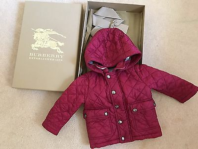 Burberry Baby Jacket (girl 9months)