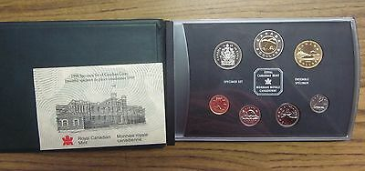 1998 Canadian Specimen Set ✪ Original Box & Coa ✪ Rcm 7 Piece Canada ◢Trusted◣