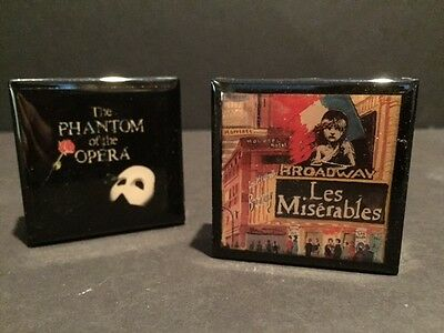 Collectible Match Box / Matches. The Phantom of the Opera & Les Miserables