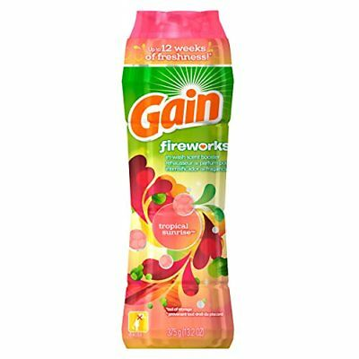 Gain Fireworks In-Wash Scent Booster Tropical Sunrise Scent 375 g