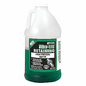 "VIBRA-TITE Retaining Compound,1L,Gap 0.015"", 54100"