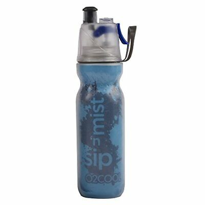 O2COOL HMCDP09 ArcticSqueeze Insulated Mist 'N Sip Squeeze Bottle 20 -Ounce B...