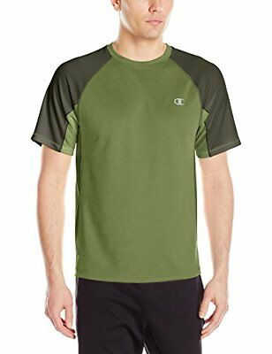 Champion Men's Power Train Tee Service Green/Bottle Green X-Large