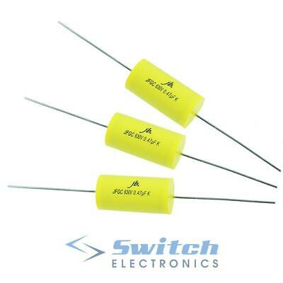 Axial Metallised Polypropylene Film Capacitor 630V ±10% - 1nF to 1000nF