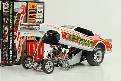 Ford Mustang Kalitta 1972 Quarter Mile Dragster Funny car 1:18 Auto world Ertl