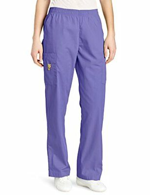 WonderWink Women's Origins Quebec Women' Scrub Pant Lavender Small
