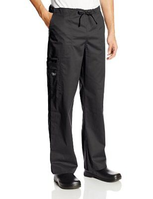 Cherokee Unisex Workwear Scrubs Stretch Cargo Pant Black X-Small