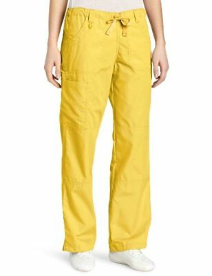 WonderWink Women's Scrubs  Cargo Pant Yellow XX-Small/Petite