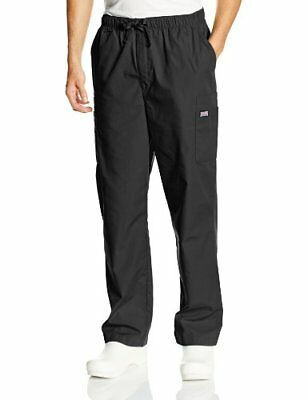 Cherokee Workwear Scrubs Men's Cargo Pant Black 3X-Large/Short