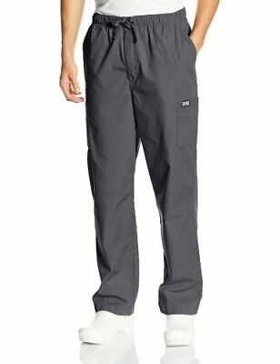 Cherokee Workwear Scrubs Men's Cargo Pant Pewter 4X-Large