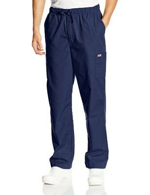 Cherokee Workwear Scrubs Men's Cargo Pant Navy 4X-Large