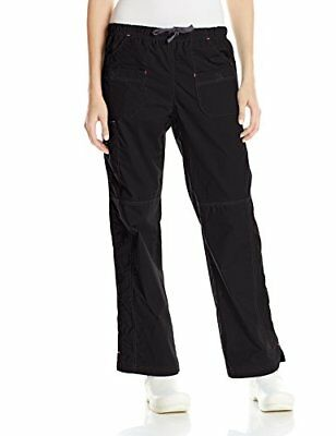 WonderWink Women's Wonderflex Faith Scrub Pant Black XX-Large/Petite