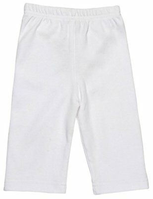 GOTS Certified Organic Cotton Clothing Baby Pants (White 3-6m)
