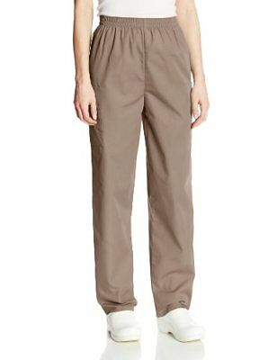Cherokee Women's Workwear Scrubs Pull-On Cargo Pant (Size 2X-5X) Taupe 2X-Large
